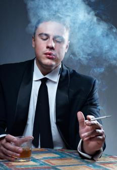 Excessive work-related stress can lead some individuals to smoke or drink excessively.