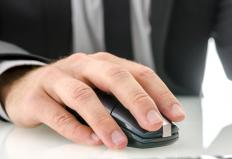 The mobility associated with the use of a computer mouse is considered when making an ergonomic arm rest.