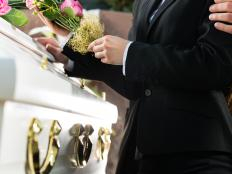 A death benefit might be paid out as a lump sum to help with funeral costs.
