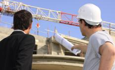 Field experience and education are important for construction site managers.