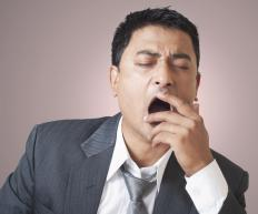 Yawning can help relieve pressure build up in the ear.