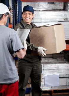 A team buyer may be tasked with making purchases as well as receiving deliveries.