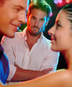 Stalkers might follow someone out to a club or social gathering.