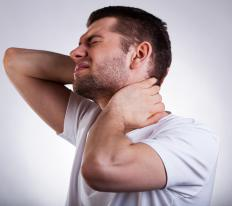 Poor posture over an extended period of time may cause neck pain.