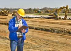 The critical path method is commonly used for construction projects.