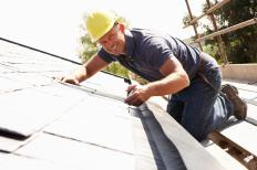 On a standard residential roof, installers use a vertical panel called a fascia to cover the ends of the roof rafters.