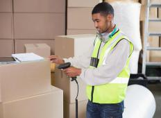 Pulled items from a picking list may be routed to a production floor to fulfill an order placed by a customer.