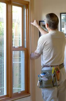 Double-hung windows can be installed by a professional or an experienced do-it-yourselfer.