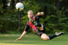 An inguinal strain is common among soccer players.