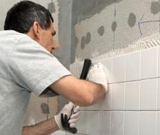 Grout paint is actually a stain that will soak into the upper layers of the material.