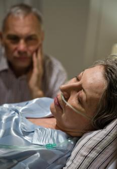In advanced stages of COPD, patients often require supplemental oxygen therapy.