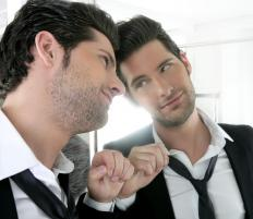 Narcissists often love themselves more than others.