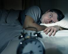 Anxiety often results in insomnia.