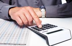Calculating a first year rate of return involves identifying expenses connected with the proposed project along with the amount of revenue that is generated as the result of that project.