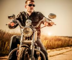 Reed valves are commonly used in motorcycles.