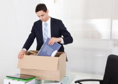 An employee may be demoted to a lesser position or fired for excessive absenteeism.