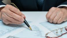 Auditors check to ensure that an organization's information reporting squares with its own pre-set rules and standards.