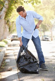 Organizations might try to beautify a ghetto by coordinating litter cleanup programs.