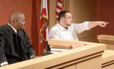 An eyewitness might be brought to a trial against someone accused of a crime.