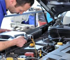 A car's breather pipe should be cleaned at the same time an oil change is performed.