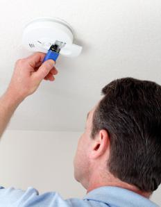 Fire safety officers may be responsible for checking if smoke detectors and other fire safety devices are in working order.