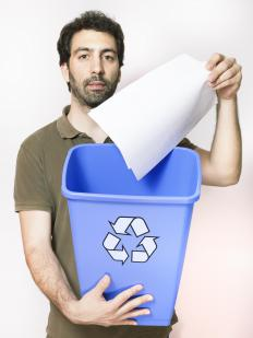 Offices can reuse and recycle in order to conserve paper.