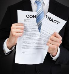 The unconscionability of a contract usually arises when one party sues for breach of contract.