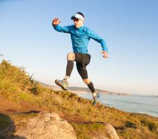 Running uphill can help increase speed and strength.