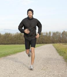 Aerobic exercise like running can improve lung capacity.