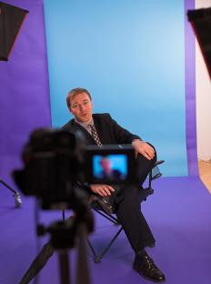 A corporate videographer often does video work for both internal and customer-facing elements of a business.