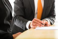 Employees often sign non-compete agreements when they are hired.