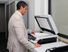 A photocopier is an essential item in the business world.