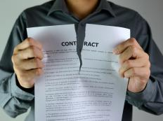 A contract may stipulate that one or both parties must abide by certain terms in order for the contract to be valid.