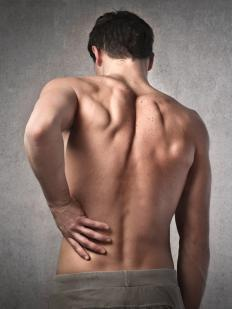 Swollen muscles can lead to painful back spasms.