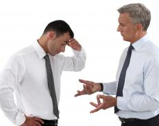 Anger management counseling could reduce the stress level between co-workers.