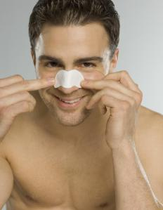 Used to reduce snoring, nasal strips work by pulling open up the nostrils, making it easier to breathe through the nose.