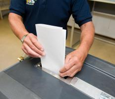 Filing petitions relating to an election ballot measure may require certain voter registration documentation.