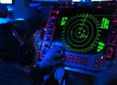 Radar simulators are used in air traffic controller training programs.