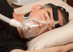 CPAP chin straps are used with a continuous positive airway pressure (CPAP) machine to treat sleep apnea.