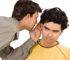 "The idiomatic expression ""Chinese whispers"" refers to news that has been unreliably communicated by word of mouth."