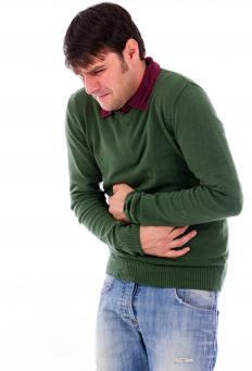 Severe cramping can be a sign of peritonitis.