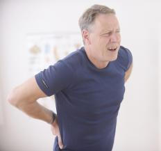 Mild stenosis can cause lower back pain.