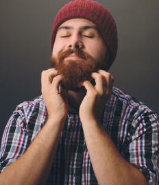 Beard hair loss associated with alopecia barbae may cause an itching sensation.