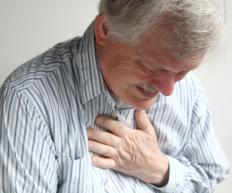 Atypical chest pain is characterized by short-lasting, sharp pain.