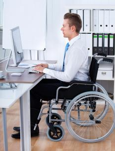 The ADA strives to ensure equality for disabled people in the workplace and elsewhere.