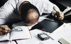 Working overtime can negatively affect a person's mental health.