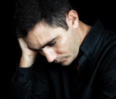 Men experiencing PTSD commonly experience depression as well.