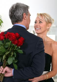Valentine's Day has become a popular day for the exchange of flowers, cards and gifts.