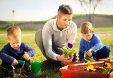 A single mother may choose a male nanny to provide a fatherly influence for her children.