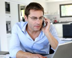 A virtual assistant can work from home.